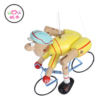 Happy kid toy Bicycle racers Wooden toys educational for kids