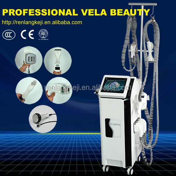 2017 multi-function velasmooth machine for sale cavitation Auto roller Vacuum slimming machine