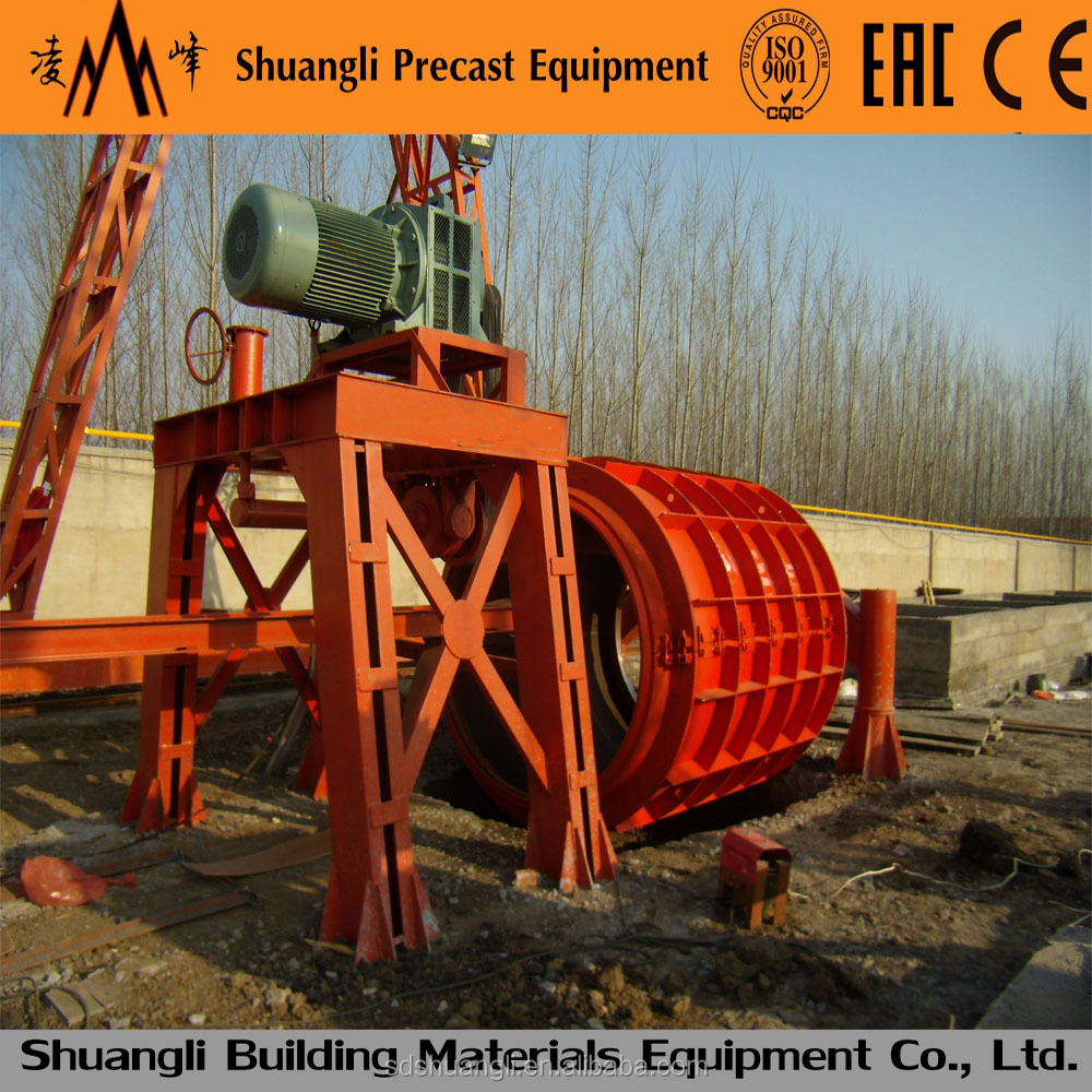 precast pipe machinery for drainage and water supply