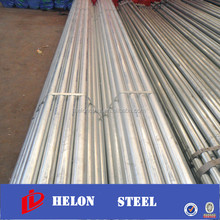 small diameter steel pipe ! scaffold galvanize pipe 6 meter hot dipped galvanized pipe for construction