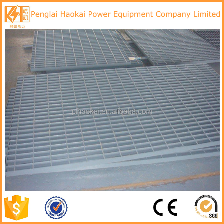 OEM customized high quality galvanised steel grate and frame