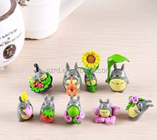 9pcs lot My neighbor figure gifts doll/resin miniature figurines Toys 5cm