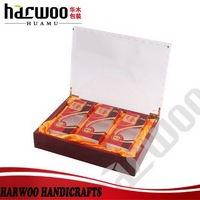 High-end acrylic packing box with small packing box
