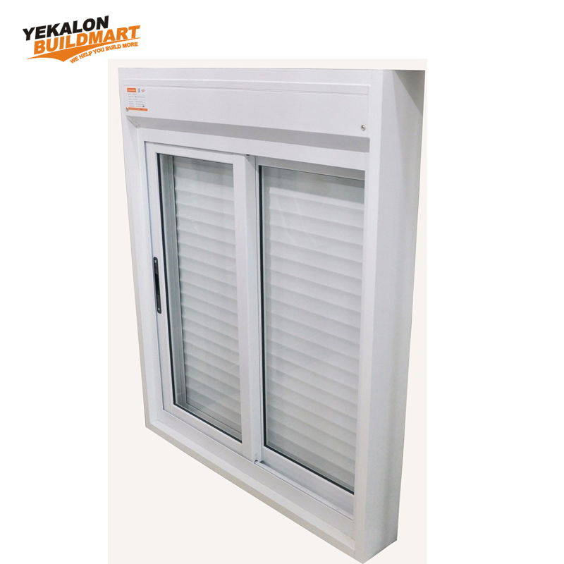 Single Pane Horizontal Storm Custom Color Sliding Glass Aluminum Profile Window/Aluminum Small Sliding Windows