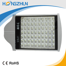 high luminous brideglux or epistar 70w led street light price list hot selling