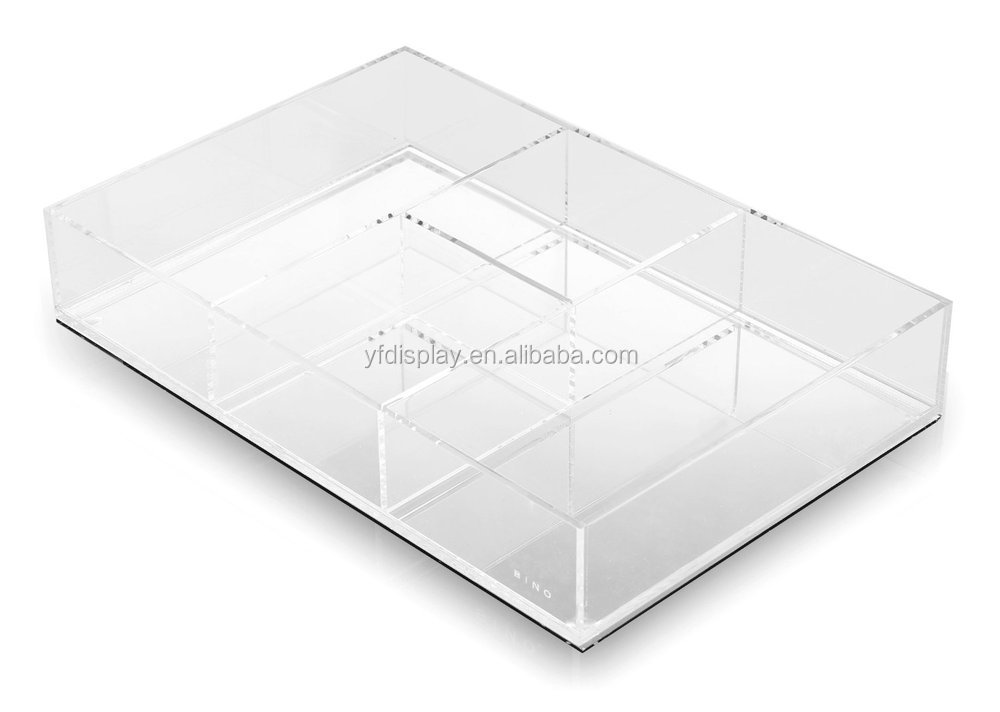 Clear Acrylic Mirror Tray for Wholesale