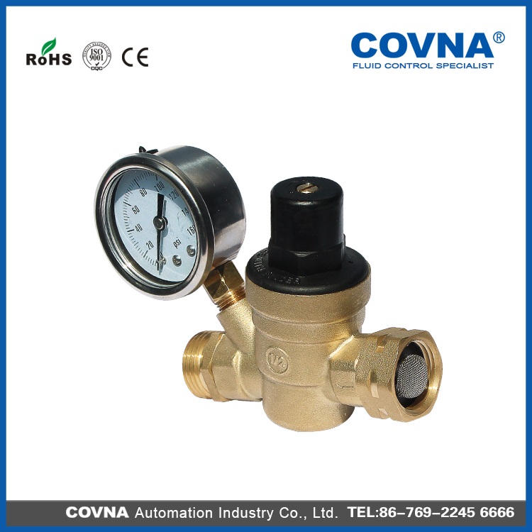 Lead free Adjustable RV Water Pressure Regulators