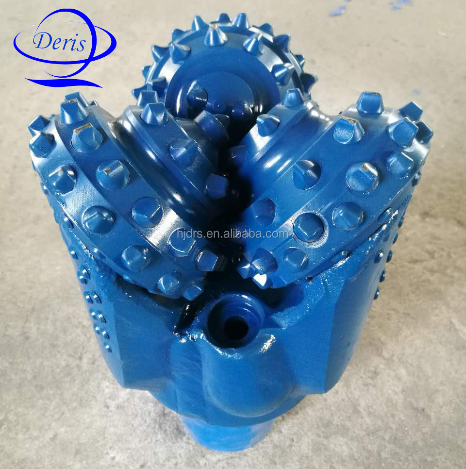 tungsten carbide IADC537 water well api tci tricone rock roller drill bits