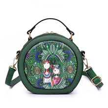 STXL Spring New Printed Shoulder Diagonal Bag Fashion Joker Handbag