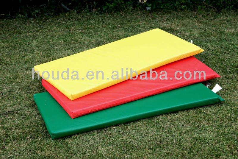 Colorful outdoor soft play mats interlocking for Children/Baby mattress