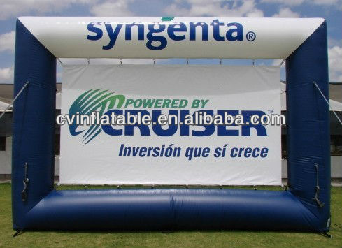 advertisement inflatable billboard moving screens