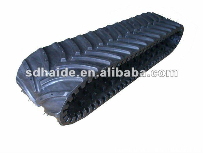 rubber tracks , rubber track pad for agricultural/combine harvester/excavator/truck/jeep/kubota