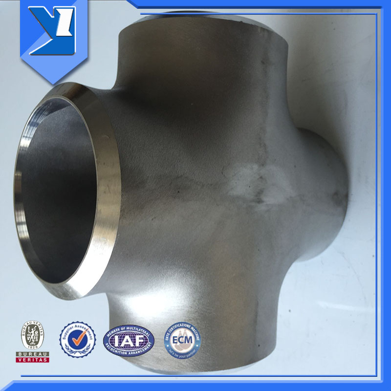 Butt Welded Cross Joint Pipe Fitting