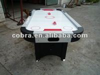 Beautiful design 6ft or 7ft ice air hockey table with electronic scorer,hitter,puck,assemble booking