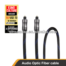 Premium Digital Audio Optical fiber cable,toslink to toslink
