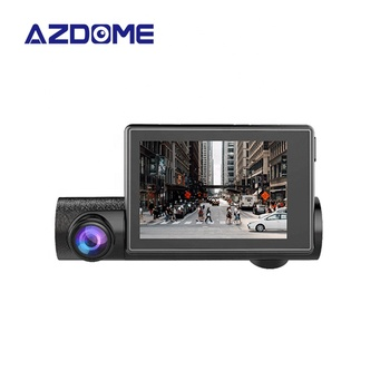 2019 New 3 inch OLED Dual 1080P+1080P Dual Camera Dash Cam