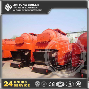 DZL Eco Saving Biomass Wood Pellet Waste Oil Steam Kettle Boilers Double Boilers for Sale