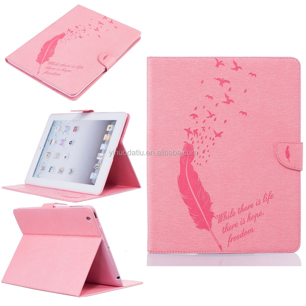 wholesale free sample Natural silk leather bluetooth keyboard case for ipad mini 4