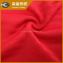 100% polyester yarn knitting with jacquard fabric