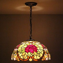 New Style Tiffany Chandelier Lamp Design For Friends