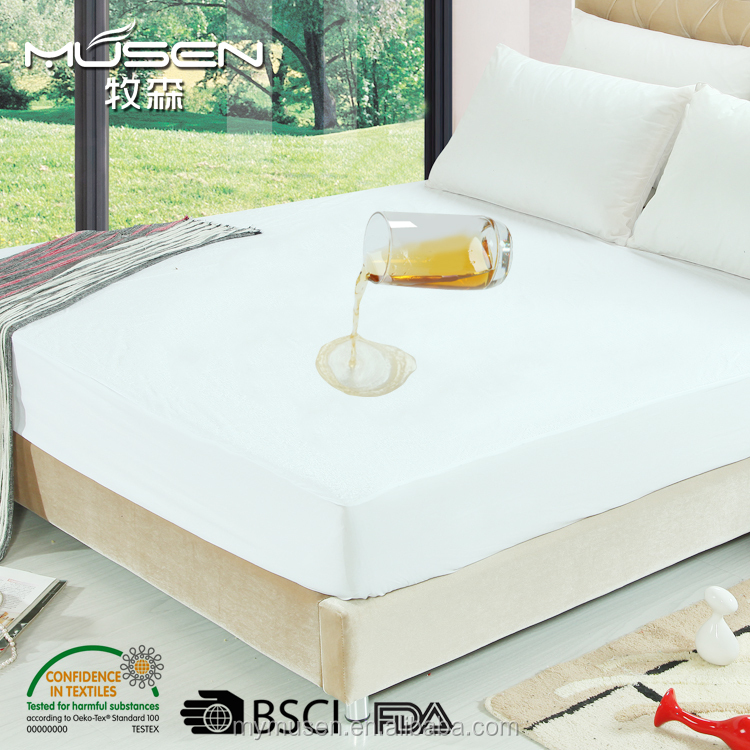 Fitted Waterproof Ultimate Bed Bug Blocker Zippered Mattress Protector/Cover - Vinyl Free
