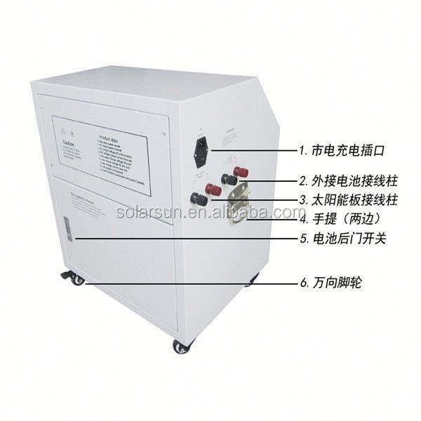 portable solar system 500W solar power DC and AC system used solar generators for sale