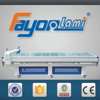 Wide eletric heat press royal touch laminates machine,lcd hot photo flatbed lamination