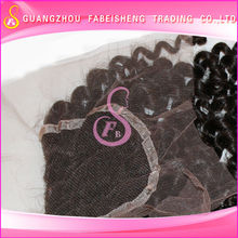 high quality factory price 100% virgin human hair made elegant lace closure