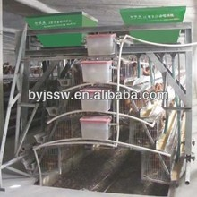 Poultry Cage Feeding System