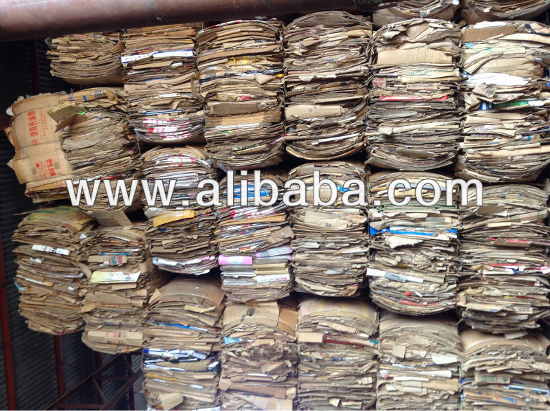 Waste Corrugated Cartong and Paper