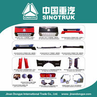 sinotruk auto accessory, truck outside decorating parts