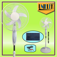 Portable Ventilator 12v Auto cool solar power car fan with battery rechargeable