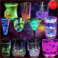 Hot sale LED flashing cup, light up glowing LED plastic cup, bar accessories and party