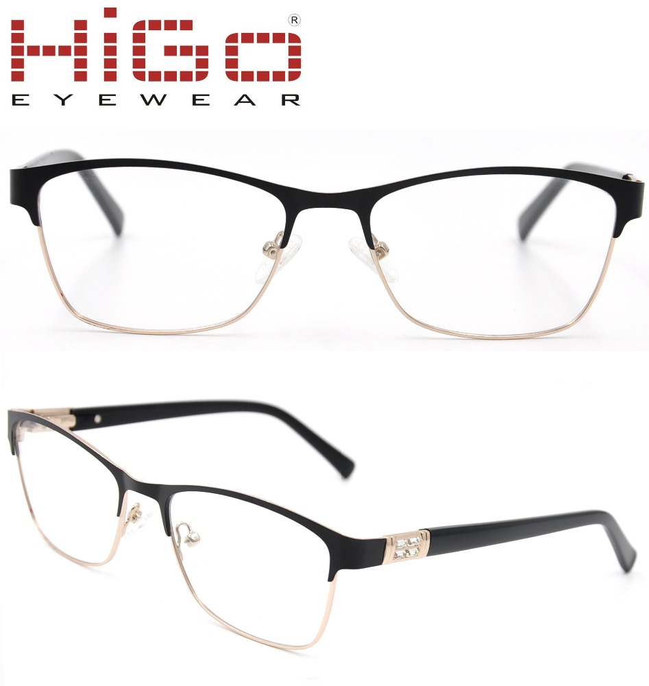 2017 Fashion Metal travel new men and women oculos models of glasses frames eyewear