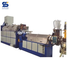 Fangsheng used pp pe film agglomerator for pelletizing machine