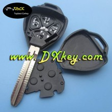 car key shell replacement key remote maker 4 buttons toyota remote key shell without logo