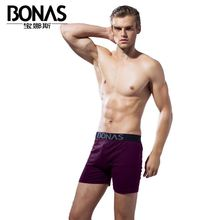 Bonas dark close-fitting delicate breathable mens underwear