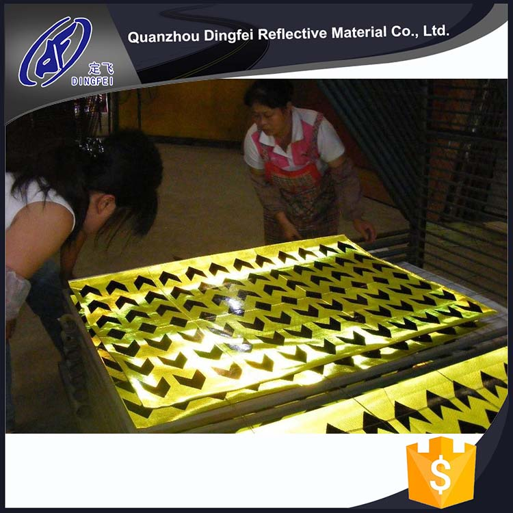 EN12899 PVC Micro Prisma Hot China Products Wholesale High Visibility Heat Transfer Reflective Film