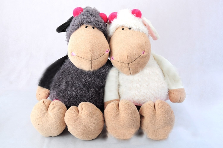 Sheep plush toys unique corporate holiday gifts