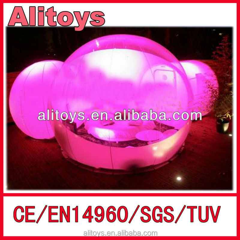 2014 beautiful buble wedding inflatable tent
