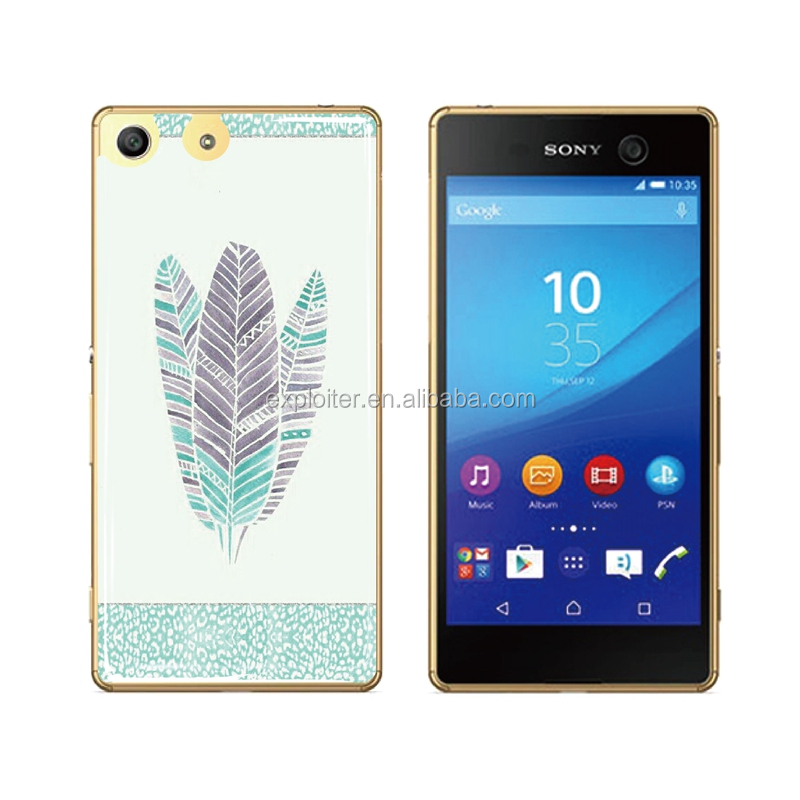 Guangzhou custom print soft epoxy resin back cover for sony xperia sp c5303 m35h