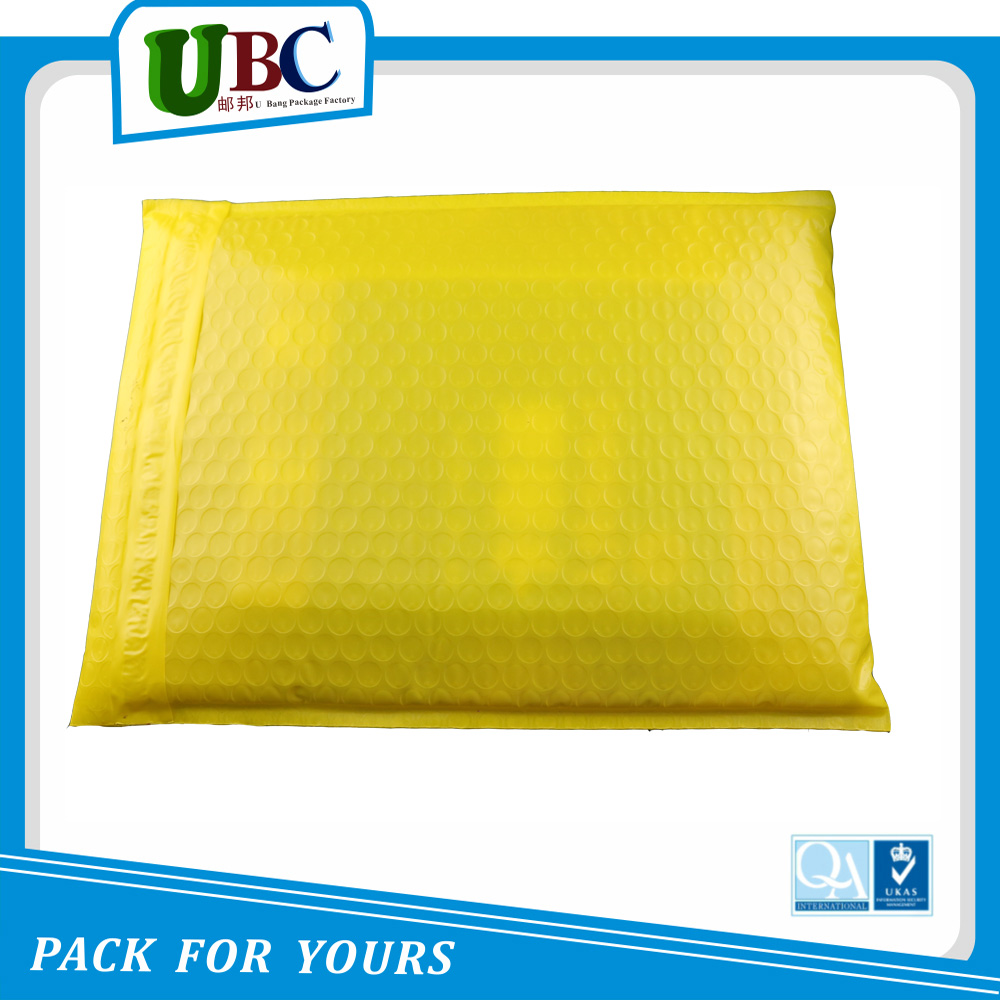 Plastic bubble envelope custom bubble padded mailers