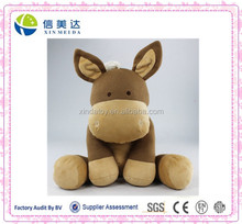 Plush Soft Custom Baby Knitted Horse Stuffed Toy