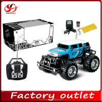 SALE 1:8 4channel Remote Control off road cars with light High speed Hummer RC model truck