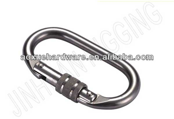 High quality safety rigging snap hooks with screw