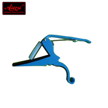 Hot sale cheap price blue alloy material guitar accessories capo tuners