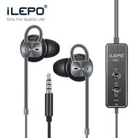 iLepo Design Control-By-Wire Built-In Microphone Noise Cancelling Headphones Headphone