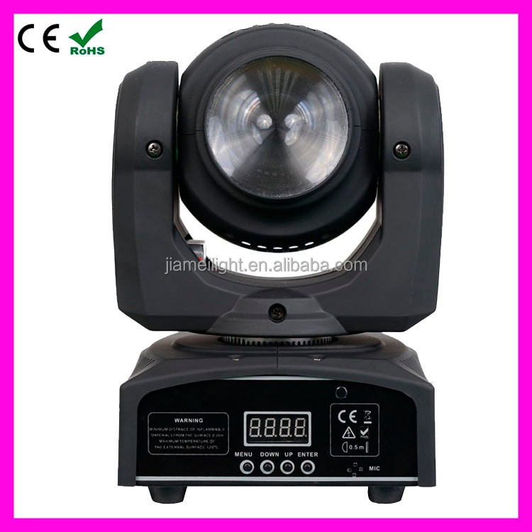 stage light club 4in1 rgbw wash led mini moving head