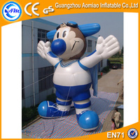 Advertising giant inflatable god cartoon, inflatable animal cartoon characters