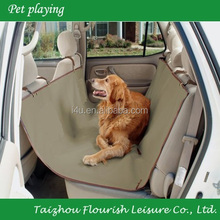 600D oxford Car seat cover for pet dog sale